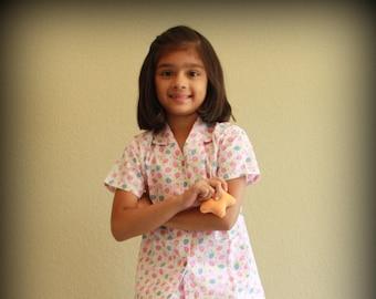 Easter Pajama   Girls Pajamas   Summer Strawberry Dreamz de27ac0c3