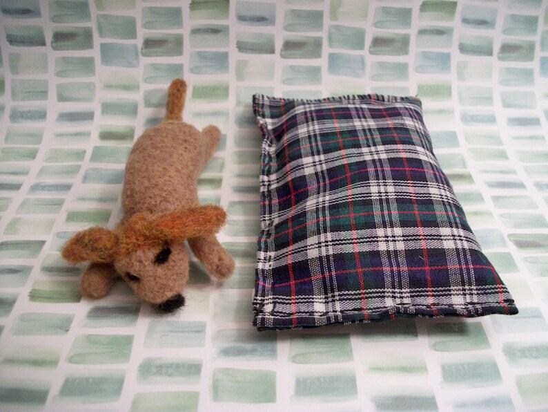 Handmade Gift Felted Dog Sleeping Dog Dog Bed