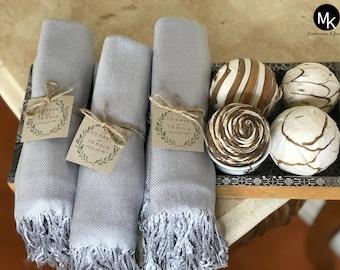 1 Pashmina Handmade - Any color - Pashminas Bridesmaids - Bridesmaid Favor -Pashmina Wedding Favors- Shawl Scarf- Wedding Ideas - Customized