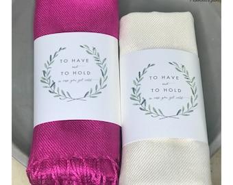 Pashmina Scarf Pink - FREE SHIPPING - Pink Bridesmaid's Gift - Pink Bridesmaid Scarf - Pink Wedding Shawl - Pink Wedding Shawl