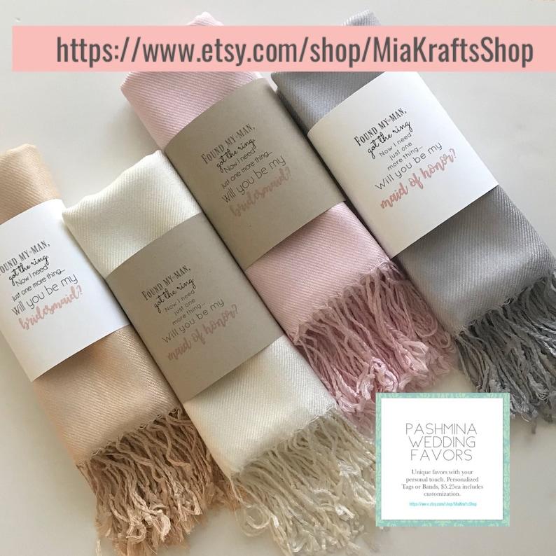 4c6f45fbc0 Pashmina scarf blush blush bridesmaid's gift blush | Etsy
