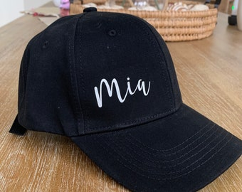 Cap - Personalized baseball Cap- Personalized Bridesmaid Gift - Personalized Gifts - friendship gift - Mom Gift - Teacher Gift- girls trip-