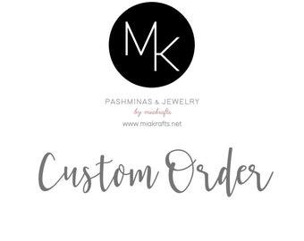 Custom Order Hair ties cards only 10 - ASK MAC