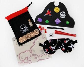 Pirate Sleeping Eye Mask Bag