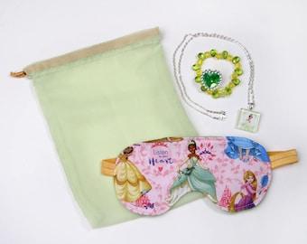 Tiana Sleeping Eye Mask Bag
