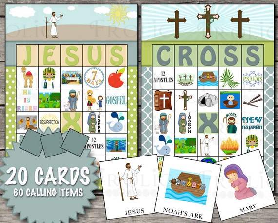 image relating to Bible Bingo Printable named Christian Bible Bingo 20 Printable Playing cards Immediate Down load