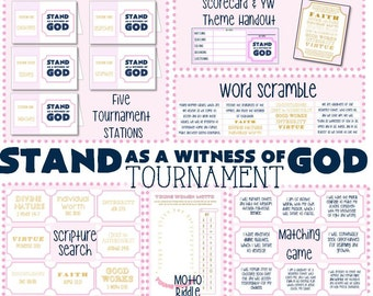 Stand As A Witness of God Tournament - Preparing for Young Womens