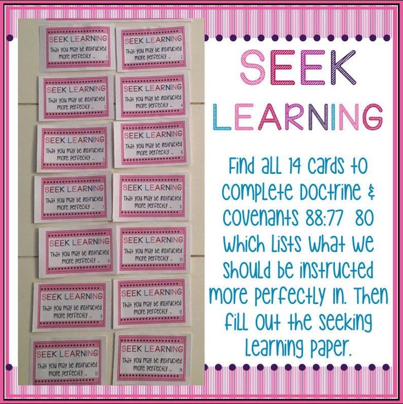 Seek Learning - Preparing for Young Women