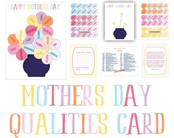 Activity Days Mother's Day Card (AND Thank You Card)