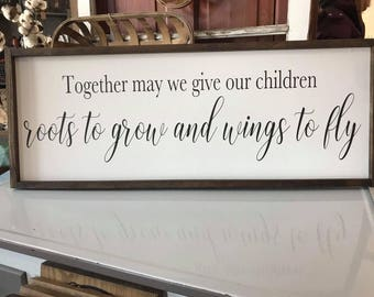 14x36 | Together may we give our children