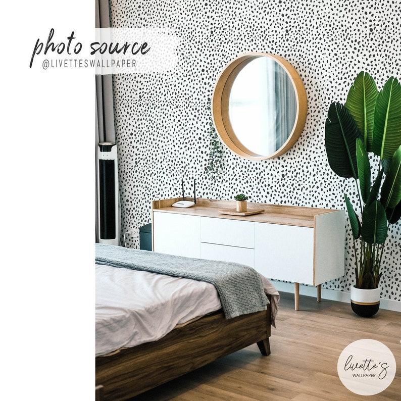 Dalmatian pattern wallpaper Trendy Animal Print image 0