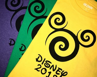 MARDI GRAS Shirt 2018 - Disney Family Shirts - Disney 2018 - Matching family shirts - disney vacation Personalized shirts