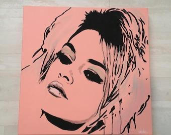 Pink Bardot
