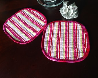 Pretty in Pink Potholder