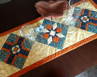 Quilted Autumn Table Runner