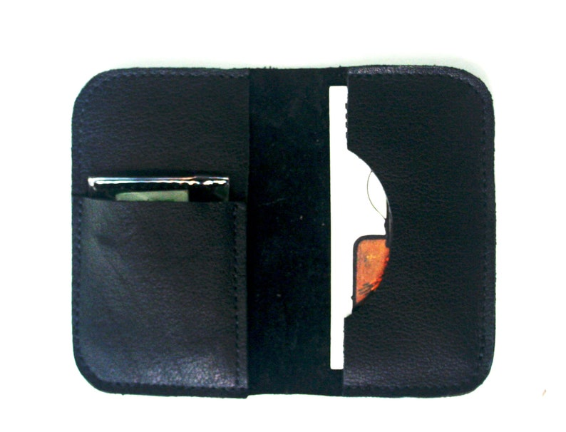 Hearing Aids Accessories Pouch in Leather Business Card Case