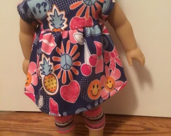 Love in bloom, adorable knit outfit, includes tunic, and leggings