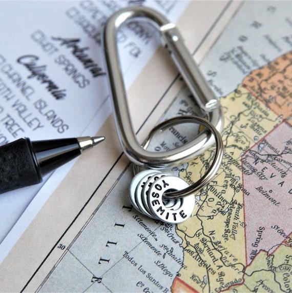 National Park Bucket List Keychain Gift for Traveler