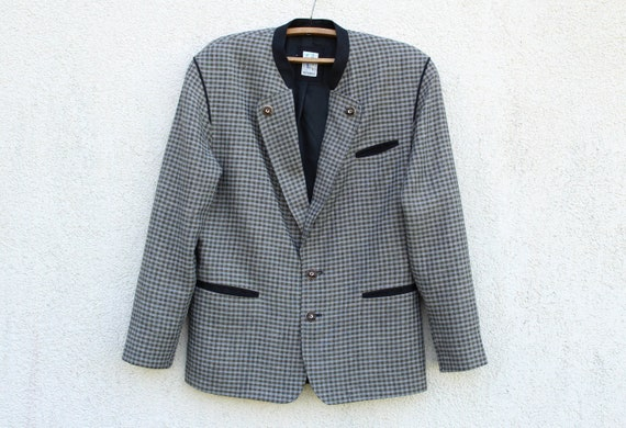 Vintage Dirndl Blazer Men's Trachten Jacket Men's
