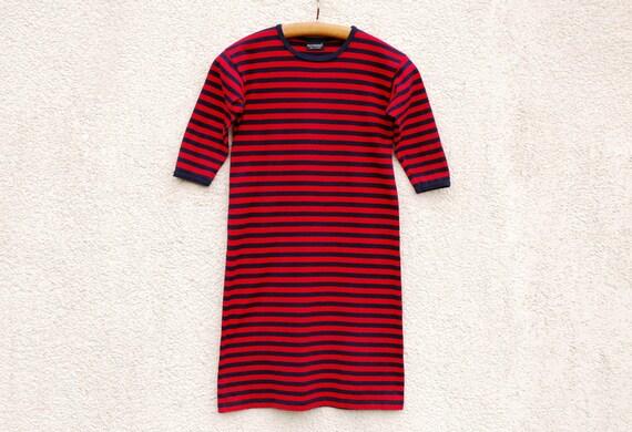 Vintage MARIMEKKO Dress Marimekko Girl Dress Red B