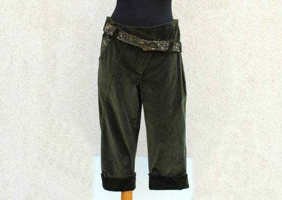 Vintage Designer Pants Women's Made in Italy Pants