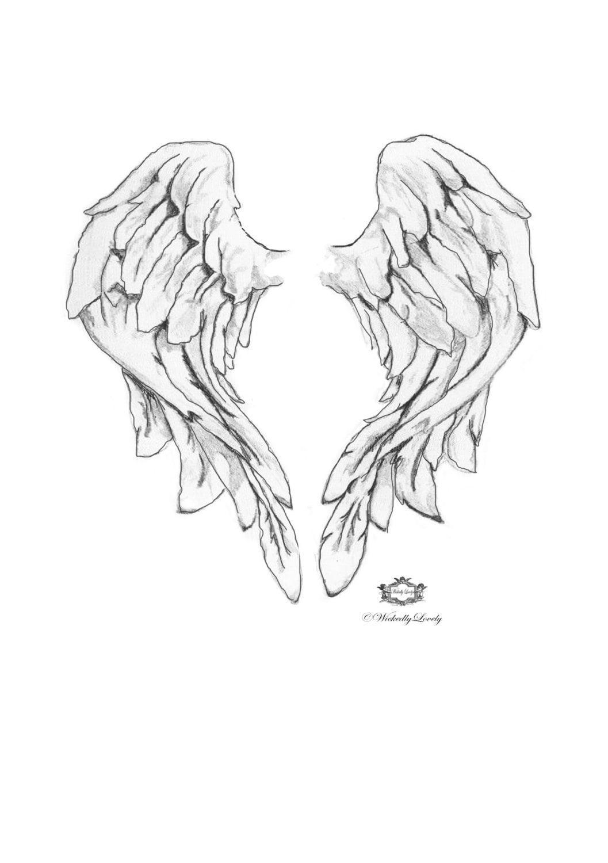 le tatouage dailes dange ailes dange tatouage ailes | etsy