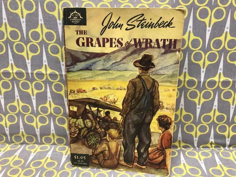 The Grapes Of Wrath Book
