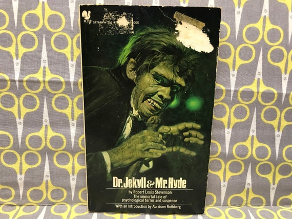 Dr Jekyll And Mr Hyde By Robert Louis Stevenson Paperback Book Etsy