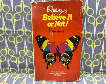 Ripley's Believe it Or Not 16th Series by Robert Ripley paperback book vintage