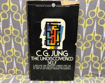 The Undiscovered Self by Carl Jung paperback book vintage
