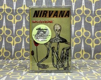 Sealed Incesticide by Nirvana Cassette Tape grunge rock alternative