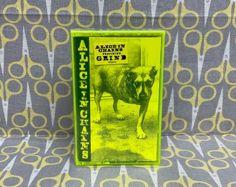 Sealed Alice in Chains by Alice in Chains Cassette Tape Rock Grunge