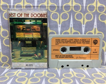 The Best of The Doobies by The Doobie Brothers Cassette Tape rock