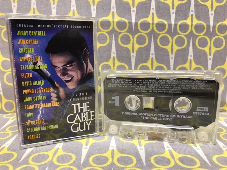 The Cable Guy Original Motion Picture Soundtrack Cassette Tape