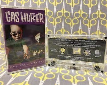 One Inch Masters by Gas Huffer Cassette Tape punk rock