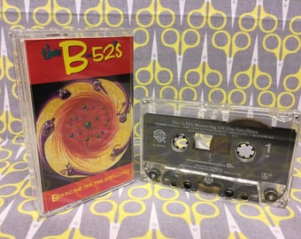 Bouncing Off the Satellites by The B-52s Cassette Tape rock