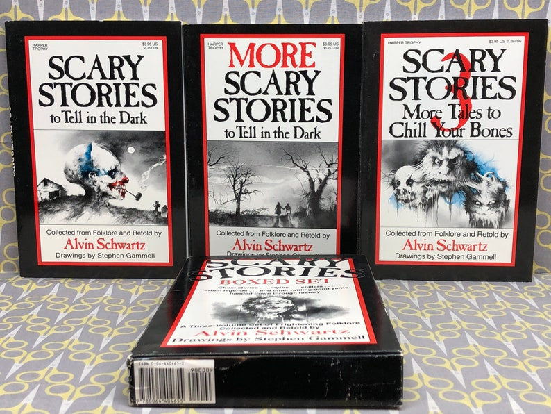 Scary Stories to Tell in the Dark boxed set by Alvin Schwartz image 0