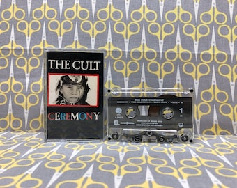 Ceremony by The Cult Cassette Tape Rock