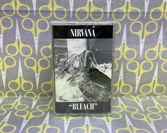 Sealed Bleach by Nirvana Cassette Tape grunge rock alternative 90s