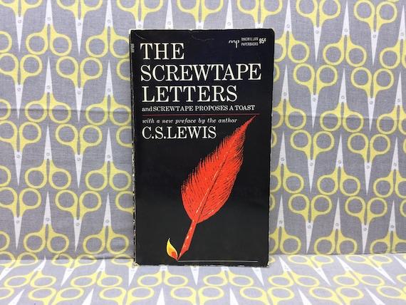 La Tactique Du Diable Par Vintage De Livre Broche De Cs Lewis
