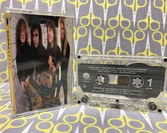 The 5.98 EP Garage Days Re-Revisited by Metallica Cassette Tape heavy metal thrash