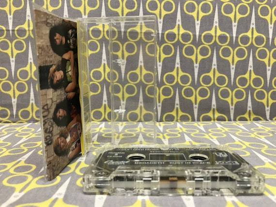 Rust In Peace By Megadeth Cassette Tape Heavy Metal