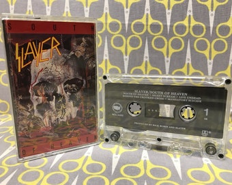 South of Heaven by Slayer Cassette Tape heavy metal thrash vintage