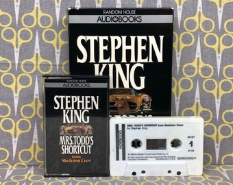 Mrs. Todd's Shortcut by Stephen King read by David Purdham Cassette Tape Audiobook from Skeleton Crew