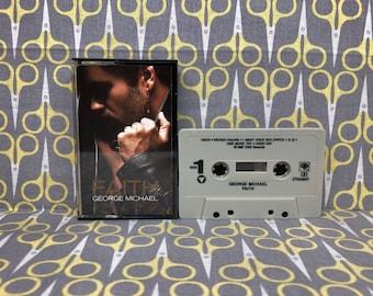 Faith by George Michael Cassette Tape rock