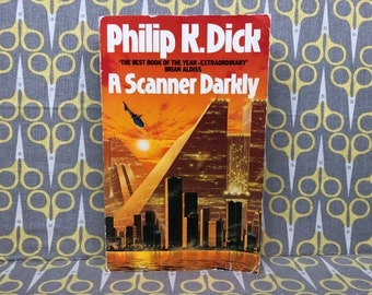 A Scanner Darkly by Philip K. Dick Paperback book Science Fiction Classic