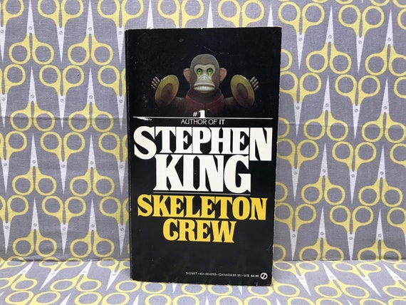 Skeleton Crew Par Stephen King Horreur De Microsoft Livre Conte Vintage Collection