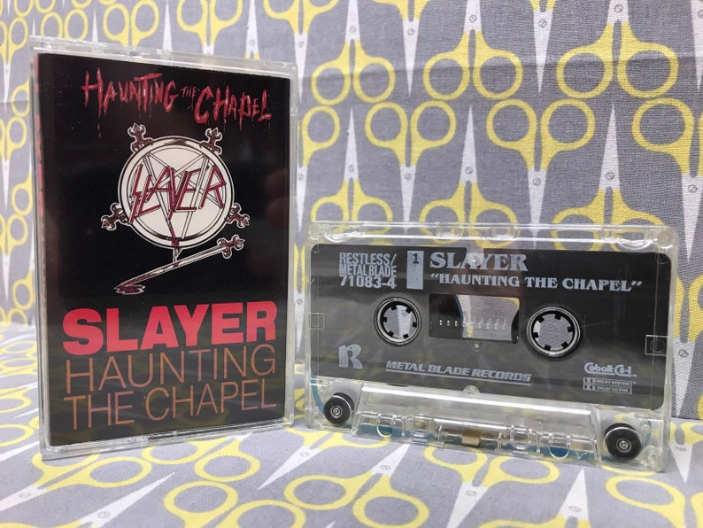 Haunting the Chapel by Slayer Cassette Tape Heavy Metal