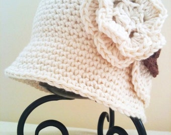 Crochet Pattern: Classic Crochet Cloche (0014) - Permission to Sell Finished Products