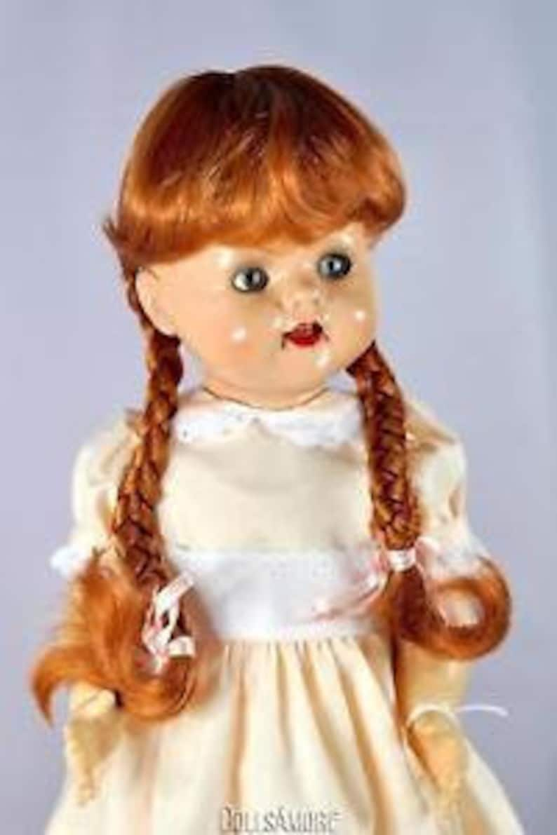 Monique Doll Wig size 4 ~ New in Box ~ DENISE ~ LIGHT STRAW BLONDE ~ BIG SALE!!!